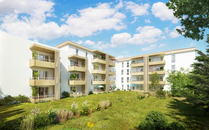 Appartements jardin du c dre le pontet 84130 urbat for Appartement le jardin