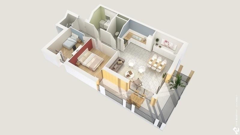 Appartements petit montout meyzieu 69330 s l c i for Prix m2 meyzieu