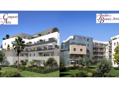 Le jardin des beaux arts le comptoir des arts montpellier 34000 les - Comptoir immobilier de france montpellier ...