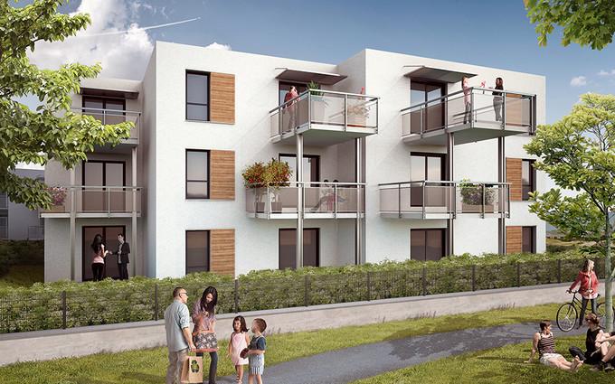 Appartements le mas perpignan 66000 urbat plan for Immobilier perpignan