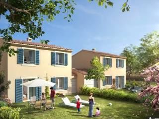 jardins brignoles 83170 nexity plan immobilier. Black Bedroom Furniture Sets. Home Design Ideas