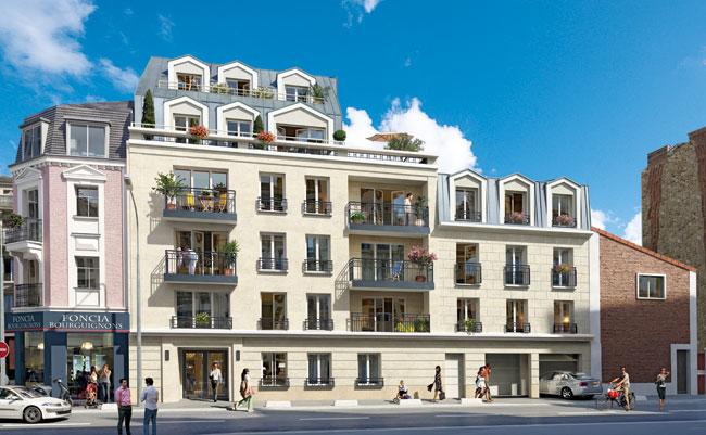 Villa Agatha à Antony (92160)  Franco Suisse  Pla ~ Rue Des Bourguignons Bois Colombes